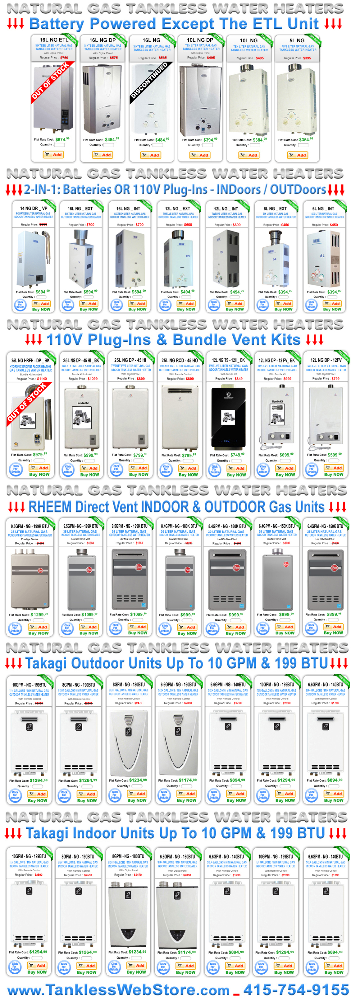 Top Gas Tankless Water Heater Reviews Now
