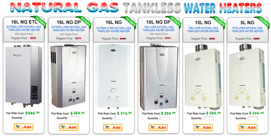 SELECTING THE RIGHT TANKLESS Buyers Guide